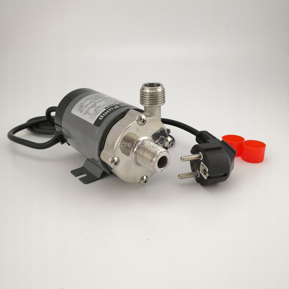 stainless steel 304 head Magnetic Pump 10R  beer brewing pump High Temperature Resisting 140C beer Magnetic Drive Pump Home Brew